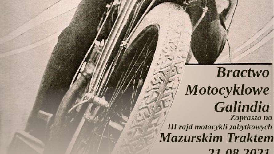 III rajd motocykli zabytkowych Mazurskim Traktem